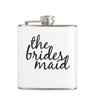 Custom Bridesmaid Flask