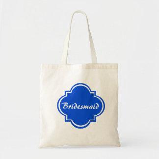 Custom Bridesmaid Wedding Tote Bag