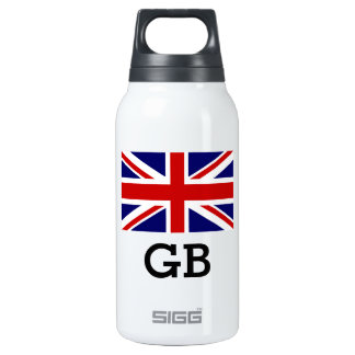Custom British Union Jack flag SIGG Thermo bottle