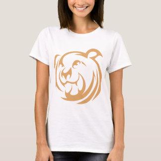 Custom Brown Bear Logo T-Shirt