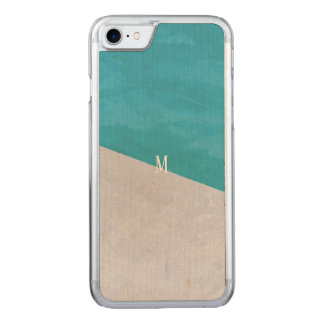 Custom brush effects pattern rich simple fashion carved iPhone 8/7 case