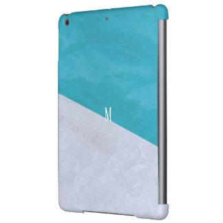 Custom brush effects pattern rich simple fashion cover for iPad air