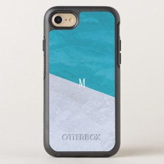 Custom brush effects pattern rich simple fashion OtterBox symmetry iPhone 8/7 case