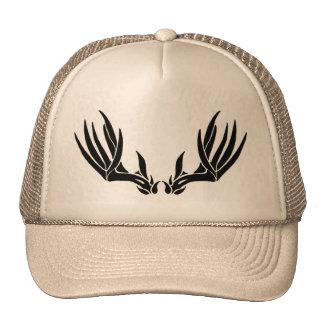Custom Buck Antler Trucker Hat
