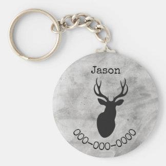 Custom Buck Keychain