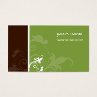 CUSTOM BUSINESS CARD :: verve :: Angel