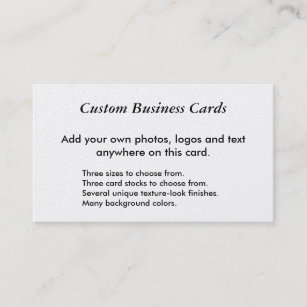 Choose background color business cards profile cards zazzle ca reheart Images