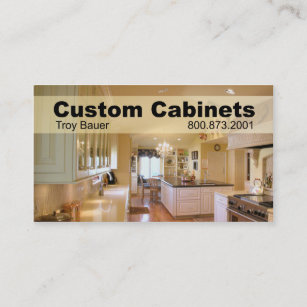 Home improvement business cards profile cards zazzle ca custom cabinets carpenter home improvement business card reheart Image collections
