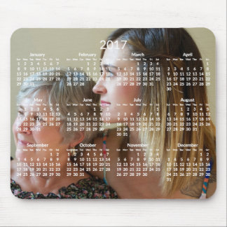 Custom Calendar 2017 Mousepads Add Photo