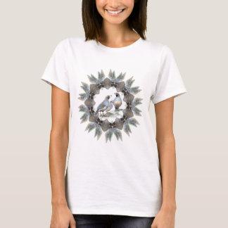 Custom  California Quail Watercolor Bird T-Shirt