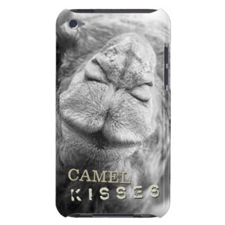 Custom Camel Kisses Closeup Photo Barely There iPod Cases