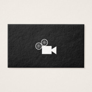 Custom Camera business card (black)