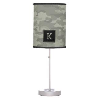 Custom Camo Army Print Table Lamp