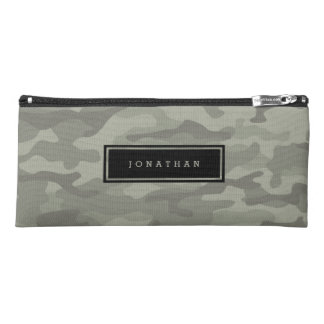 Custom Camo Camouflage Army Print Pencil Case