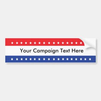 Custom Campaign Bumper Stickers