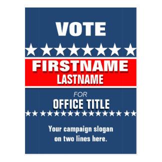 Custom Campaign Template Postcard