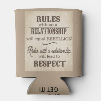 Custom Can Cooler Relationship Rules By ZAZZ_IT
