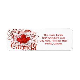 Custom Canada Return Address Labels