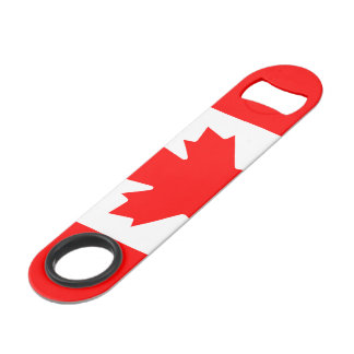 Custom Canadian flag Pro Speed bottle opener