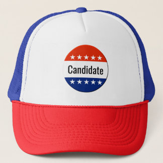 Custom Candidate Campaign 2018 Midterm Election Trucker Hat