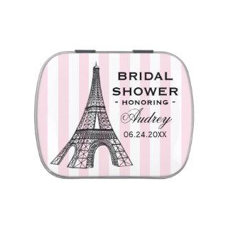 Custom Candy Favor Tin | Paris France Theme