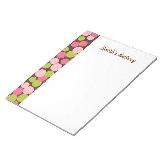Custom Candy Polka Dots  Notepad