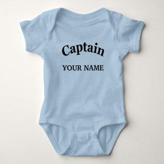 CUSTOM CAPTAIN BABY BODYSUIT