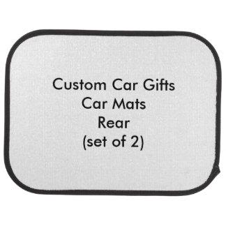 Custom Car Gifts Car Mats Rear (set of 2) Car Mat