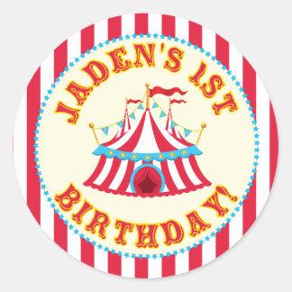 Custom Carnival Sticker with Custom name Jaden