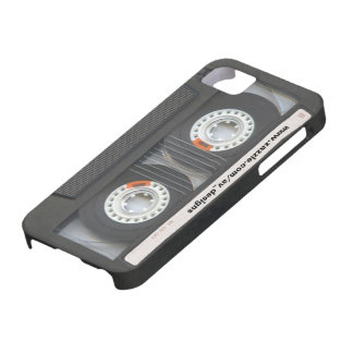 Custom Cassette Mixtape Case For The iPhone 5