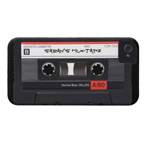 Custom Cassette Tape Blackberry Bold Case
