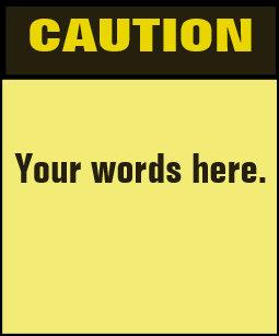 caution sign t shirts shirt designs zazzle ca