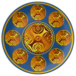 Custom Celtic Art Collectible Plate Porcelain Plates