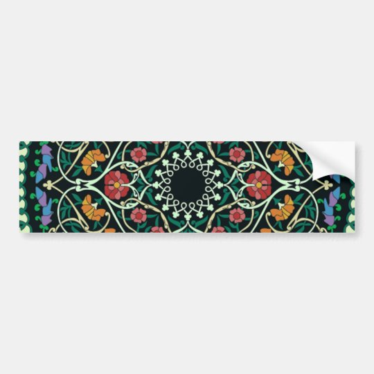 Custom Celtic Knot Abstract Design Bumper Sticker