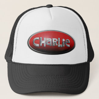 Custom Charlie Trucker Hat