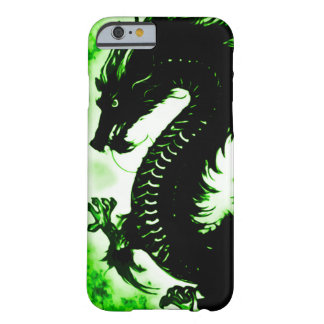Custom Chinese Earth Dragon Fantasy Art Nouveau Barely There iPhone 6 Case