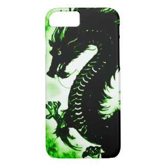 Custom Chinese Earth Dragon Fantasy Art Nouveau iPhone 8/7 Case