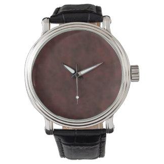 Custom chocolat wrist watch