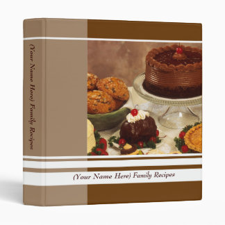 Custom Chocolate Dessert Recipe Food Binder