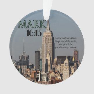 CUSTOM CHRISTIAN BIBLE VERSE MARK 16:15