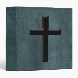 Custom Christian God Gift Cross 3 Ring Binders