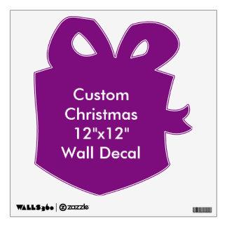 """Custom Christmas 12""""x12"""" Wall Decal"""