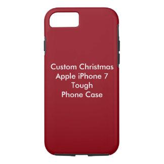 Custom Christmas Apple iPhone 7, Tough Phone Case