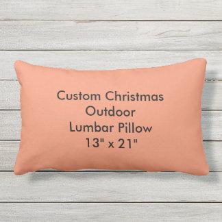"""Custom Christmas Outdoor Lumbar Pillow 13""""x21"""""""