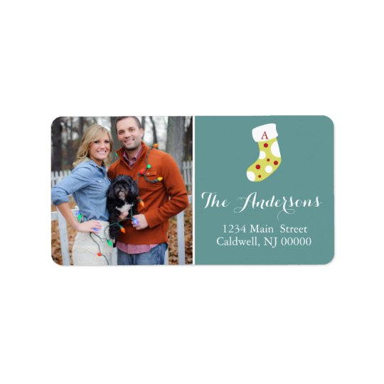 Custom Christmas Photo Labels | Holidays