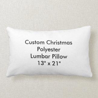 """Custom Christmas Polyester Lumbar Pillow 13""""x21"""""""