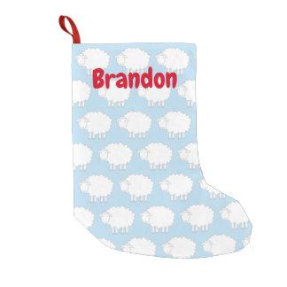 Custom Christmas stocking for baby boy or girl