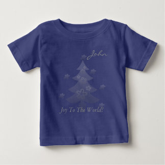 Custom Christmas Tree Stars Holiday Kids Tee