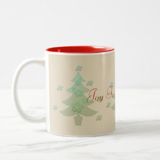 Custom Christmas Tree Stars Holiday Mug