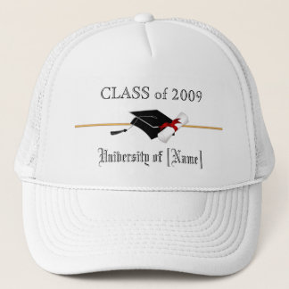 Custom Class of 2009 - Graduation Hat